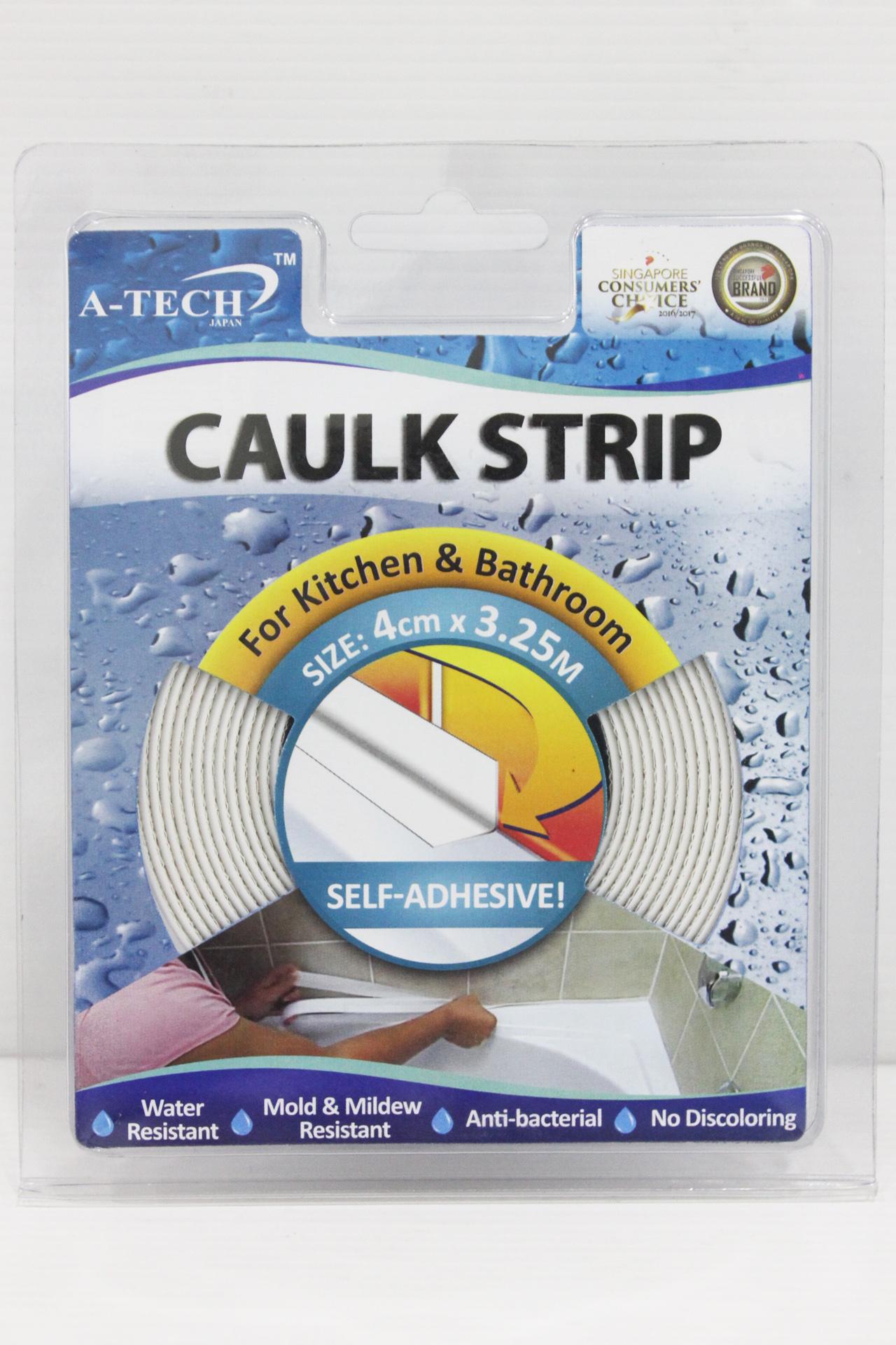 CAULK STRIP (KITCHEN & BATHROOM) - 4cm x 3.25Metre - A-Tech