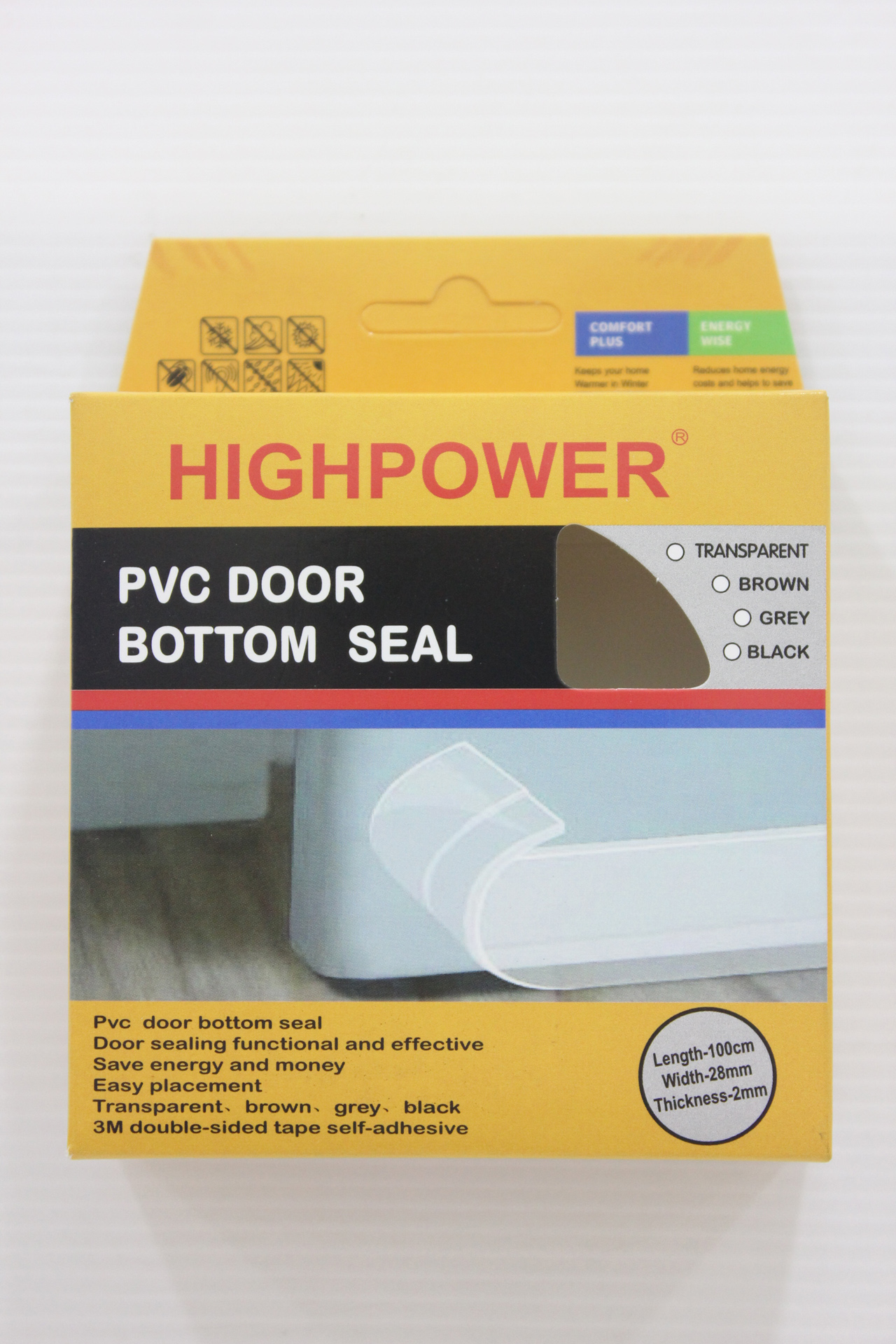 seals bottom norsound by door acoustic seal