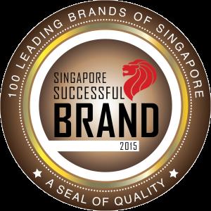 2015 Singapore Successful Brand Logo