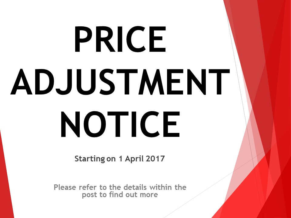 price adjustment notice01042017