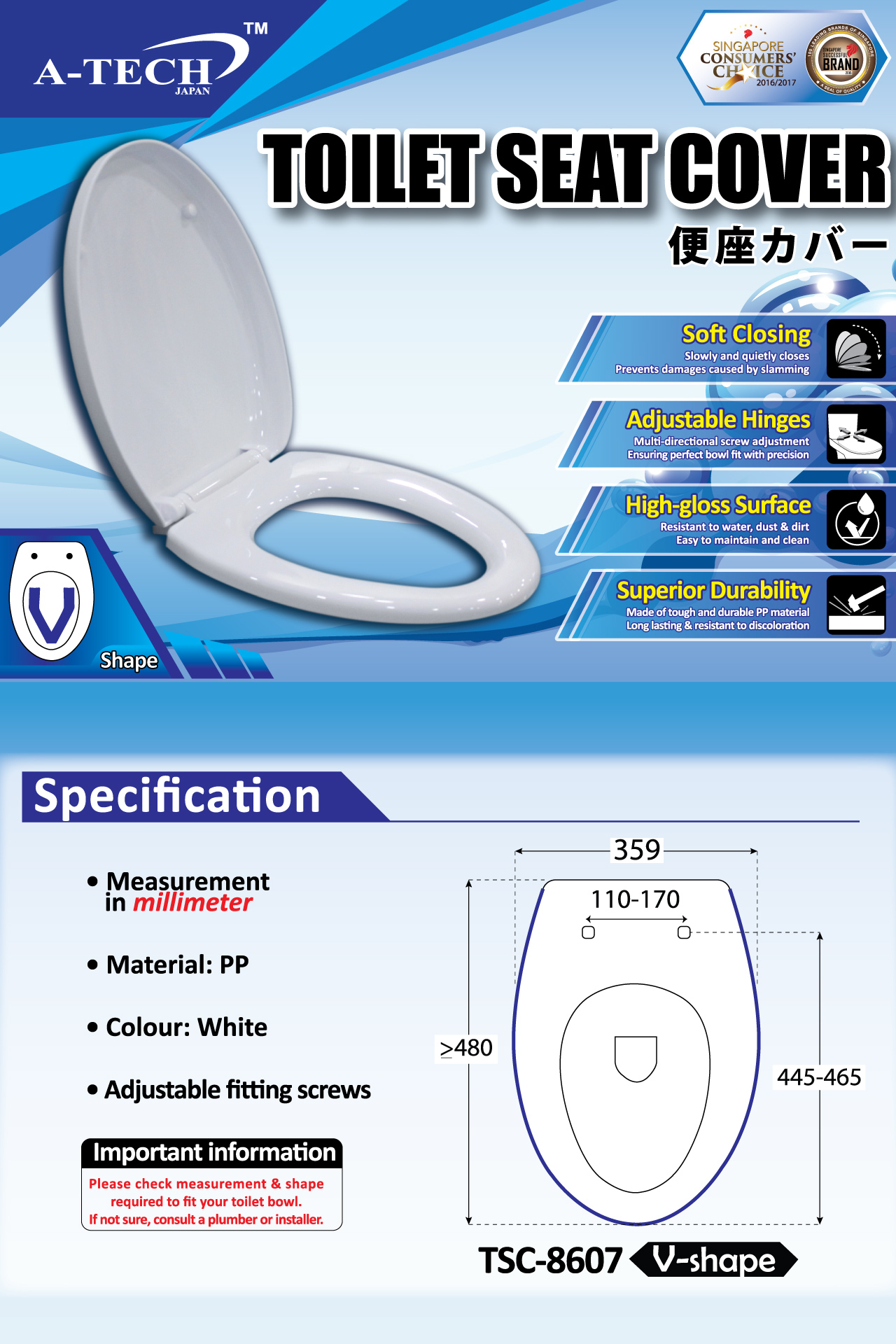 Phenomenal Toilet Seat Cover Soft Closing V Shape A Tech Onthecornerstone Fun Painted Chair Ideas Images Onthecornerstoneorg